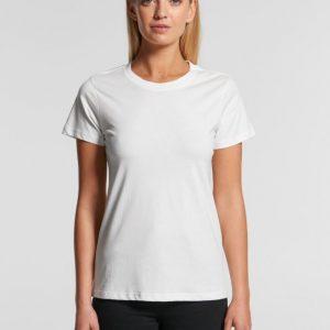 Organic Cotton Ladies Mid-weight T-shirt