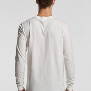 Organic Cotton Men's Long Sleeve T-shirt