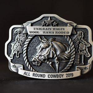 Australian Made - Pewter Belt Buckles