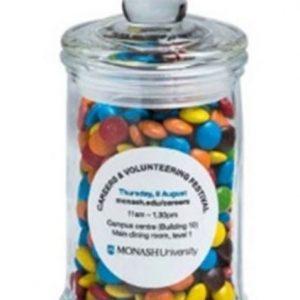 M&M's - Apothecary Jar