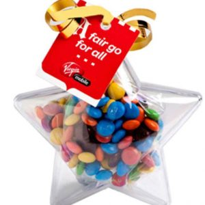 Christmas - Acrylic Star Confectionery