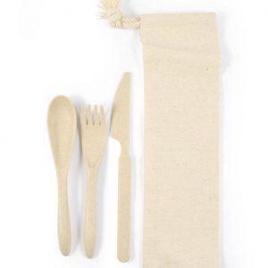 Cutlery Set - Calico