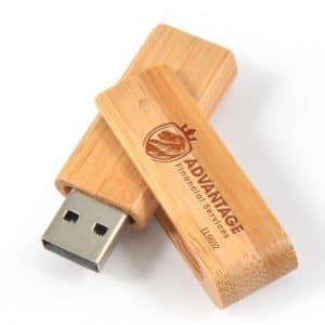 USB Flash Drive - Bamboo