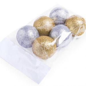 Christmas Baubles - Metallic
