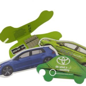 Car Shape Seedstick Pack