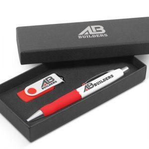 Gift Set - Pen & USB