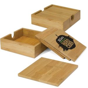 Bamboo Coaster - set of 4