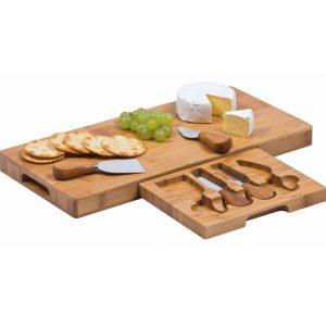 Gourmet Bamboo Cheese Board